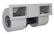 quadruplex centrifugal blowers