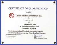 Kooltronic Environmental Testing Services