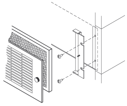 Filter Grille mounting