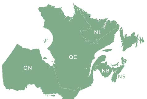 canadian eastern provinces