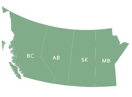 canadian western provinces