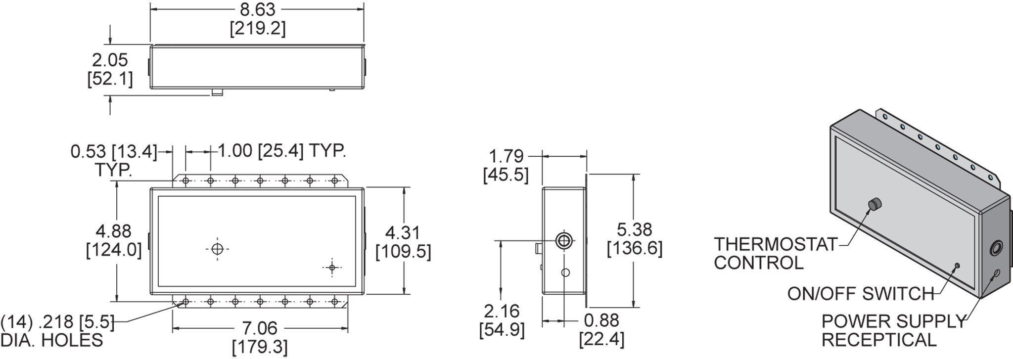 Lead-Lag Controller General Arrangement Drawing