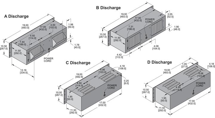 KP1051 Packaged Blower general arrangement drawing