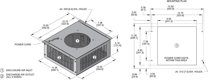 KP4E225/63 Pagoda General Arrangement Drawing