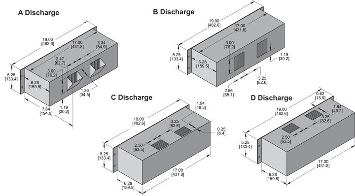 KP528 Packaged Blower general arrangement drawing