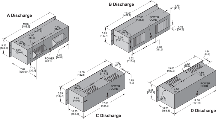 KP529 Packaged Blower general arrangement drawing