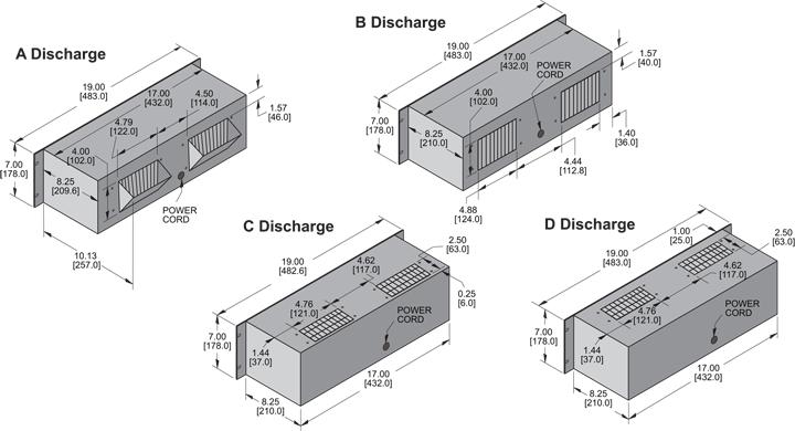 KP729 Packaged Blower general arrangement drawing