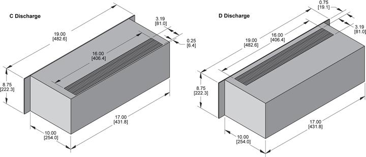 KPC877 Packaged Blower general arrangement drawing