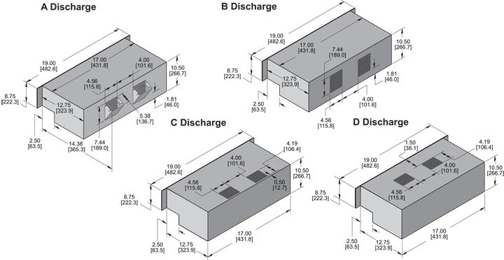 KPL1051 Packaged Blower general arrangement drawing