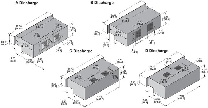 KPL529 Packaged Blower general arrangement drawing