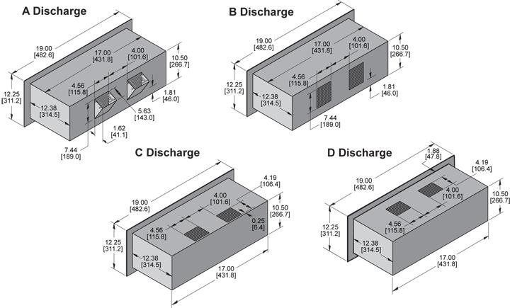 KPR1051 Packaged Blower general arrangement drawing