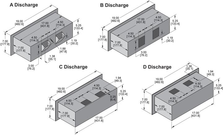 KPR529 Packaged Blower general arrangement drawing