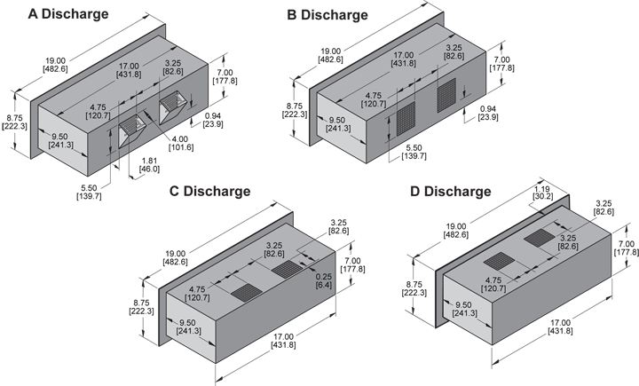 KPR701 Packaged Blower general arrangement drawing