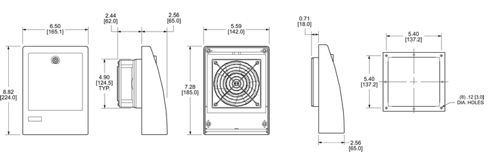 Filter Fan Package General Arrangement Drawing