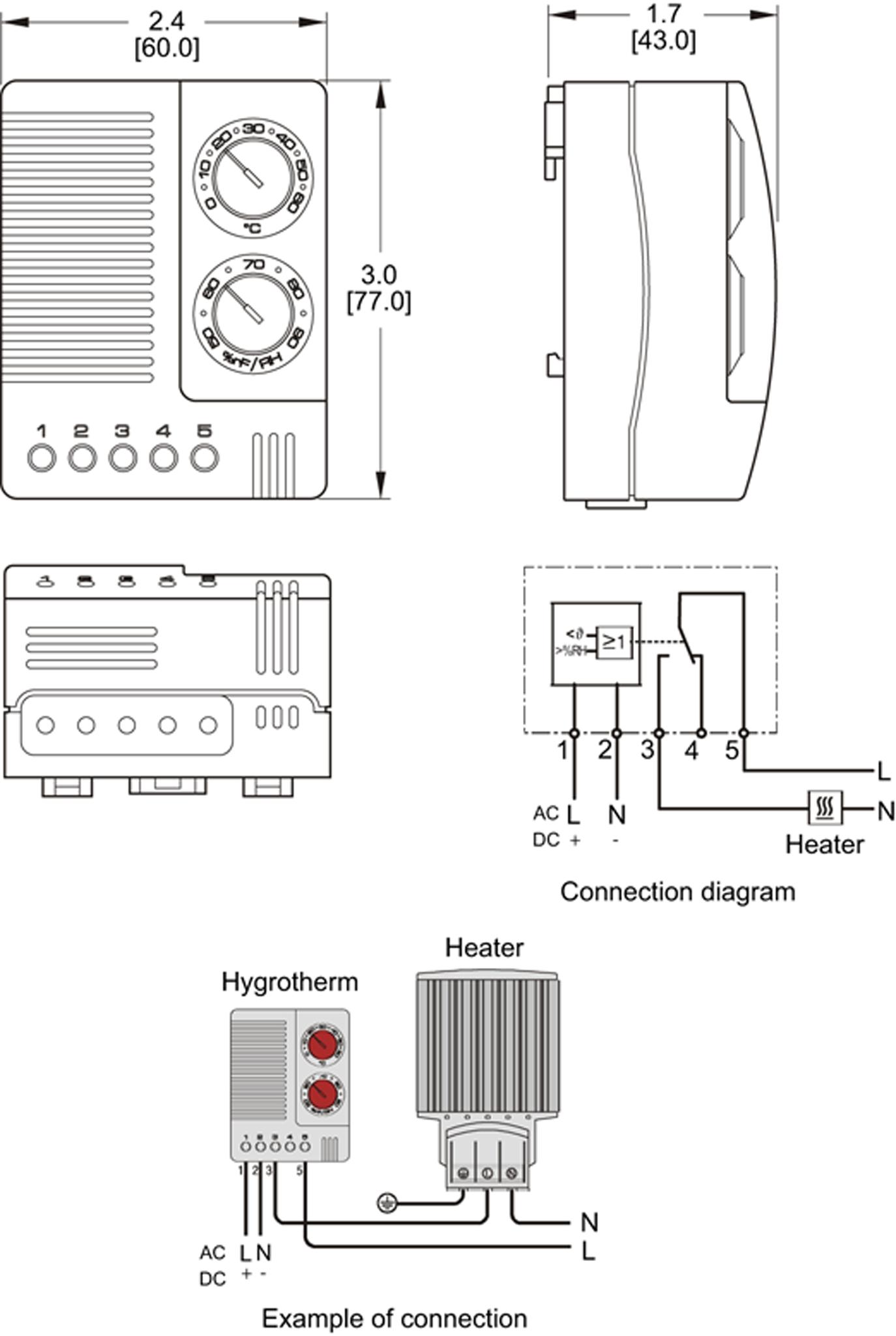 Hygrotherm General Arrangement Drawing