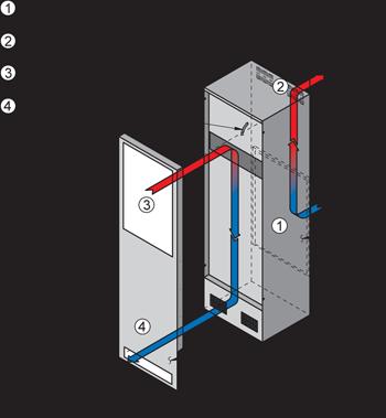 TrimLine KXNP59 Heat Exchanger isometric illustration