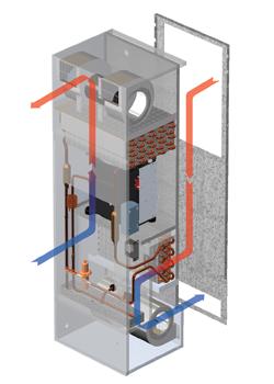 TrimLine Enclosure Air Conditioner illustration
