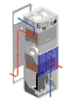 Advantage Enclosure Air Conditioner illustration