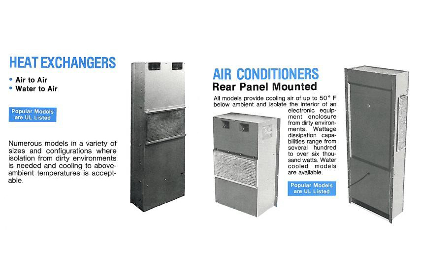 Original enclosure cooling devices